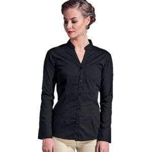 lounge shirt formal ladies black barista